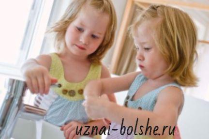 Как правильно мыть руки детям