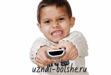 Влияние телевизора и компьютера на ребенка