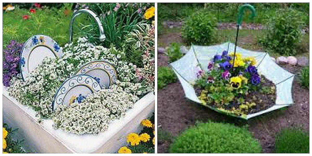 Оформление цветников и клумбы своими руками на даче фото 667